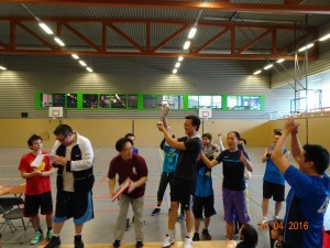 Winnaar van de 2de Allround Games 2016 Chinese Sportfederatie Crazy Jacks